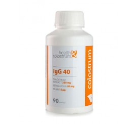 Colostrum kapsle IgG 40 (350 mg) + betaglucan a selen - 90 ks, Health & Colostrum
