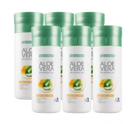 LR Aloe Vera Drinking Gel Traditional s medem 6 x 1000 ml
